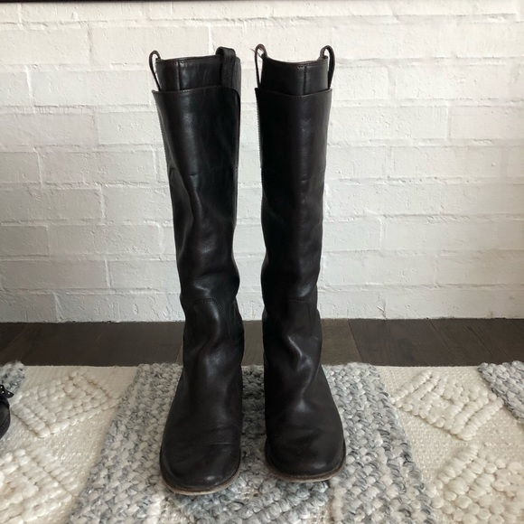 Tall Frye boots